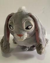 "Disney CLOVER Sofia The First Plush Bunny Rabbit 8"" Gray Soft Stuffed Animal Toy - $9.90"