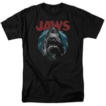 Jaws retro 70's 80's thriller movie Amity Island graphic t-shirt UNI994 image 1