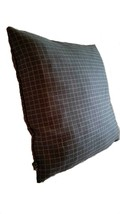 2 Pillow Covers Mid Century Modern Geometric Gray Check - B3 - $42.75