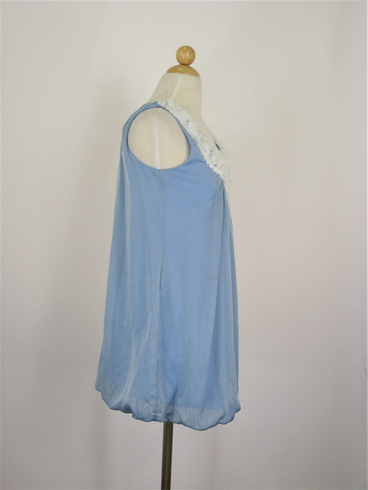 Party Dress Un Deux Trois Baby Blue Chiffon Bubble Party Dress 5 $180