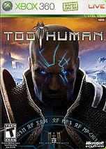 Too Human (Microsoft Xbox 360, 2008)M - $5.24