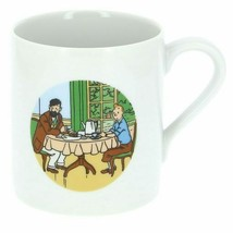 Tintin and Haddock Moulinsart Petit Dejeuner porcelain mug in gift box   image 2