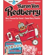 Baron Von Redberry Reproduction Cereal Box Stand-Up Display - General Mills - $15.99