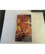 Indiana Jones & The Temple Of Doom  , Harrison Ford  , 1986   , VHS  - $5.00