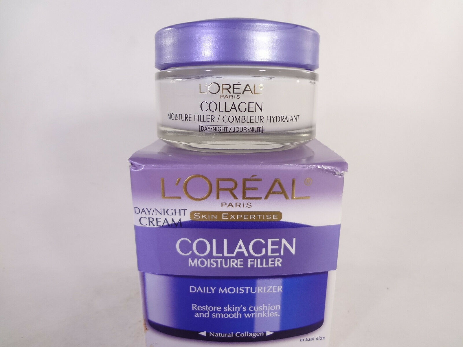 Primary image for L'Oreal Collagen Day/Night Cream Moisture Filler 1.7 oz {HB-L}
