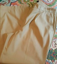 Tommy Hilfiger Brand ~ Men's Size 38 x 30 ~ Khaki (Tan) Colored ~ Cotton... - $23.76