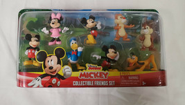 NEW SEALED 2019 Just Play Disney Junior Mickey Mouse Friends Figure Set of 8 - $19.79