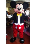 Mickey Mouse Mascot Costume Adult Cartoon Character Costume For Sale  - $325.00