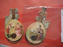 1 calendar 1893 card chocolate SUCHARD WIESER IV nr 4, mandolines cocoa ... - $88.11