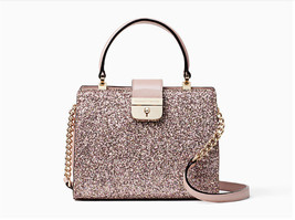 Kate Spade Mini Kirin Sunset Lane Glitter Crossbody Bag Rose Gold NWT - $106.92