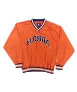 Vintage Starter Florida Gators Satin Pullover Jacket Size L Men's UF Ora... - $34.99