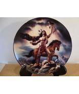 Bradford Exchange Fine Porcelain Hunters of the Spirit, The seeker circa... - $25.00