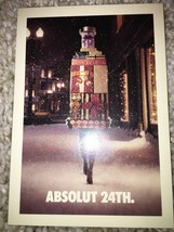 Absolut 24th No. 161 Moscow Mule Recipe NEW - $3.99
