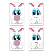 Easter Bunny Scratch-Off Giveaway Cards, Family/Party Casino Games, Pack... - $10.49