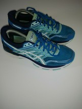 Asics GT 2000 Women's Running Shoes Sneakers Sz 9 Green Blue Lime - $29.69