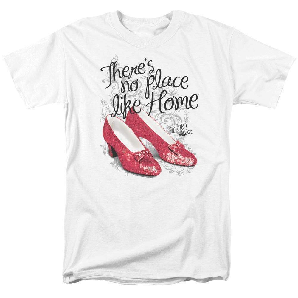 The Wizard of Oz t-shirt No Place Like Home ruby slippers graphic tee OZ109