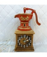 Spartus Water Pump Wall Clock Vintage Model H6814 Kitchen Decor Works - $26.91