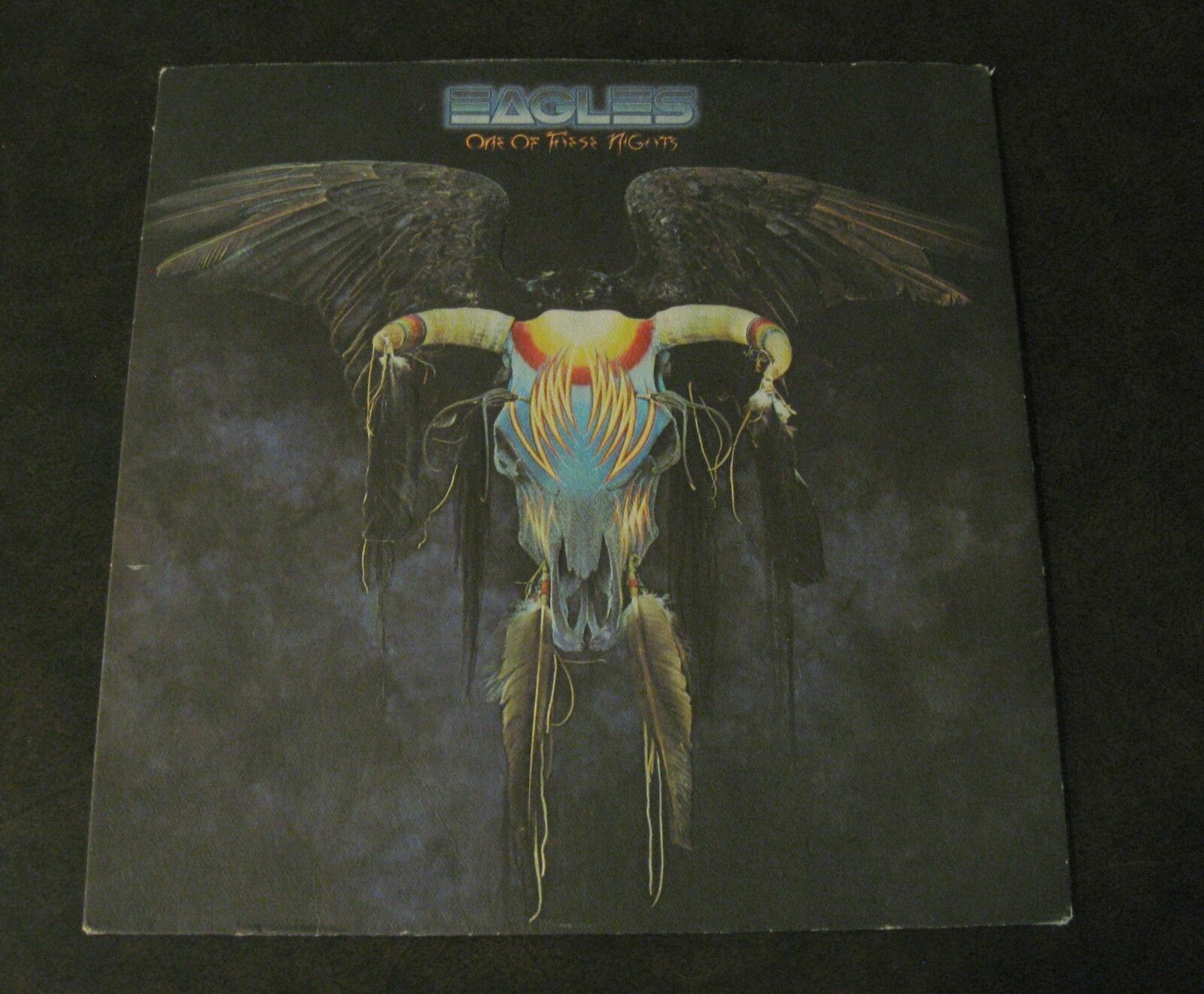 Eagles One Of These Nights Asylum 7E-1039 Stereo Vinyl Record Textured Cover