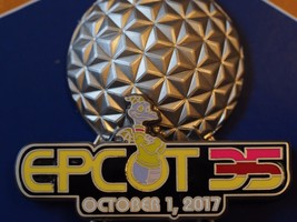 Disney Epcot 35th I WAS THERE Pin and Park Map - €23,79 EUR