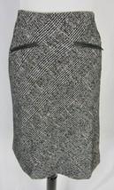 Talbots Skirt size 6 Black Plaid Straight Knee Modest No Slit Suit Career Church - $29.97