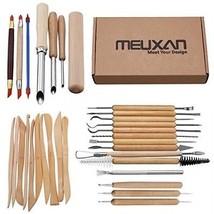 Meuxan 31PCS Ceramic Pottery Tools Polymer Clay Sculpting Kit - $35.98