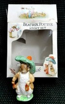 1948 BESWICK ENGLAND Pottery BEATRIX POTTER STORY SET figure warne  - $87.95