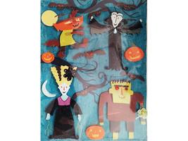 K&Company Halloween Monster Stickers #546172