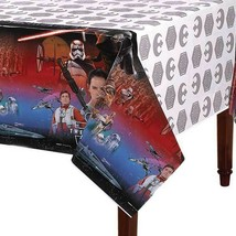 Star Wars Episode 7 The Force Awakens Plastic Table Cover 1 Ct Birthday ... - $6.44