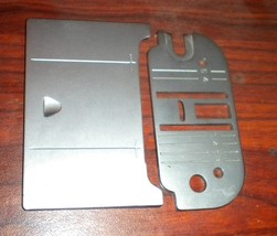 Singer Merritt 9612 Bed Slide Plate #422229 & Needle Plate #447580 Both ... - $15.00