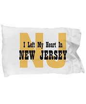 Unique Gifts Store Heart In New Jersey - Pillow Case - $17.97