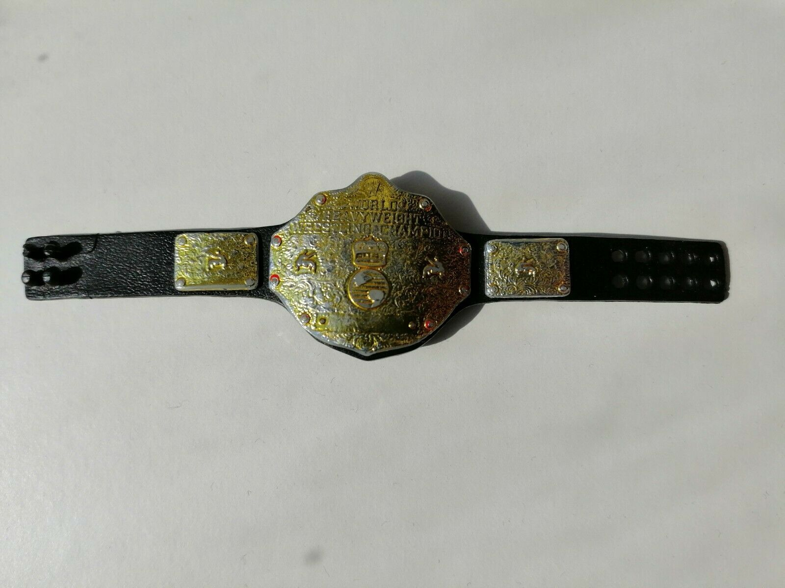 ELITE WORLD HEAVYWEIGHT CHAMPIONSHIP BELT ACCESSORY WWE WRESTLING FIGURE MATTEL