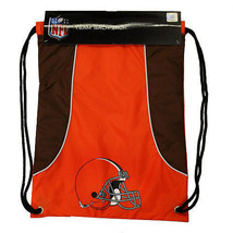 CLEVELAND BROWNS BACK SACK PACK SCHOOL GYM BAG NFL FOOTBALL - $15.81