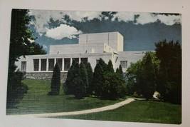 Vintage Linen Postcard: Colorado Springs Fine Arts Center-unused - $4.75