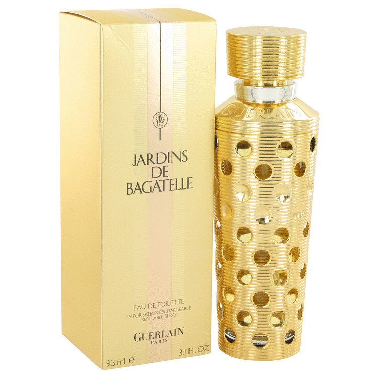 Guerlain Jardins De Bagatelle Perfume 3.1 Oz Refillable Eau De Toilette Spray