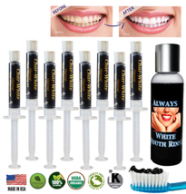 Activated Charcoal Gel for Natural Teeth Whitening - Fresh Teeth Whitener - USA - $15.95