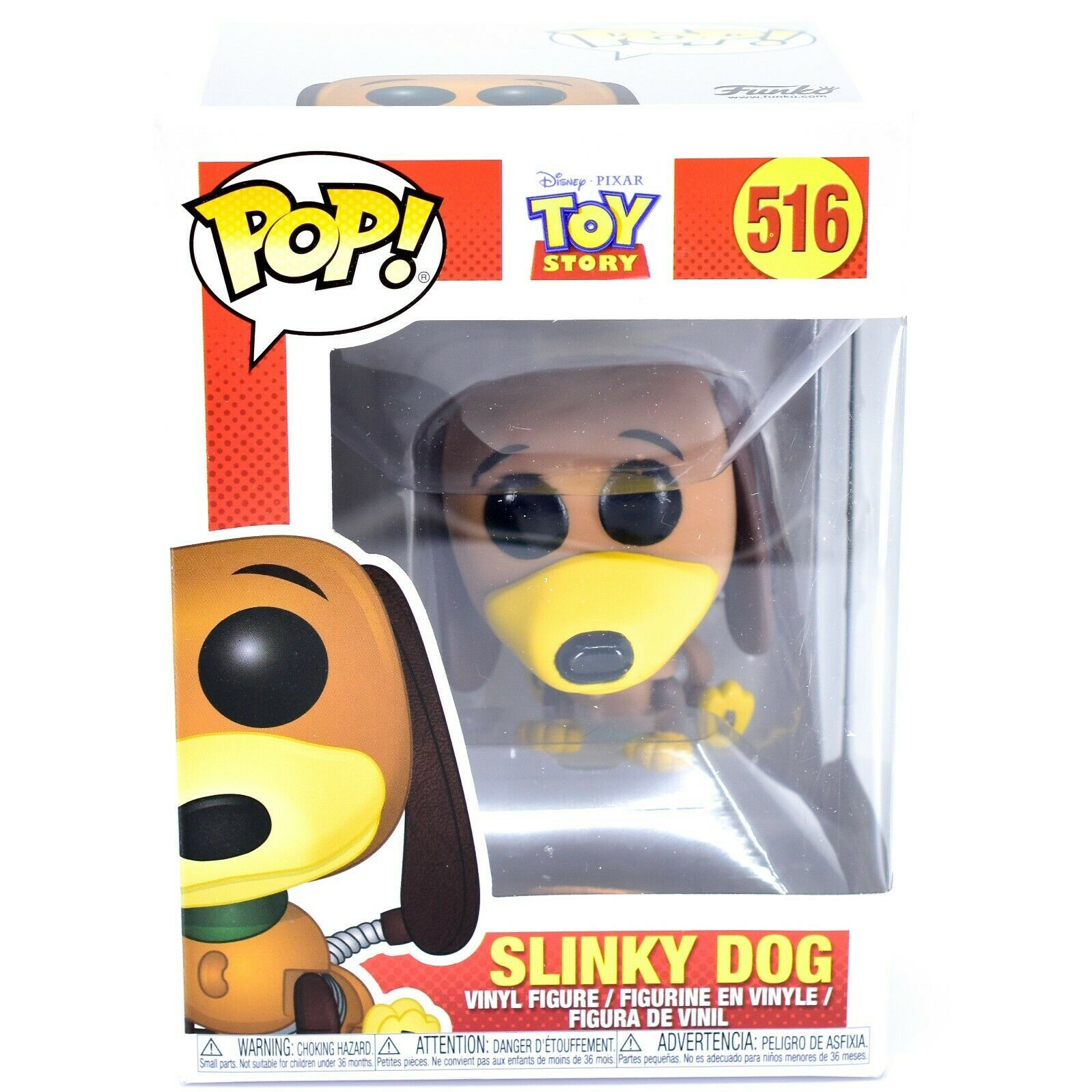 Funko Pop! Disney Pixar Toy Story Slinky Dog #516 Action Figure