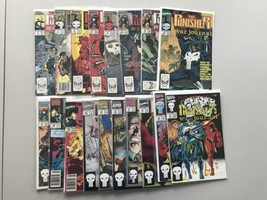 Lot of 18 Punisher War Journal (1988 1st Series) from #3-37 VF Very Fine - $39.60