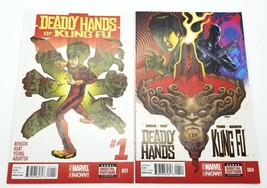 Deadly Hands of Kung Fu #1 & #4 Volume 2 Marvel Comics Mini Series July ... - $21.19