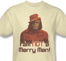 Star Trek Worf T-shirt Free Shipping Next Generation cotton Klingon tee CBS539 image 2