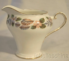 April Rose Creamer English Bone China Gold Gilt Trim Made in England by ... - $29.65