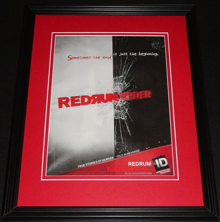 Redrum 2013 11x14 Framed ORIGINAL Advertisement ID image 1