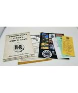Vintage Harrington And Richardson Dealer Information Advertisement Catalogs - $16.82