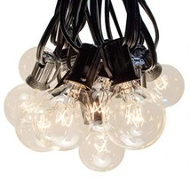 Hometown Evolution, Inc. 50 Foot G40 Globe String Lights with Clear Bulb... - $49.25