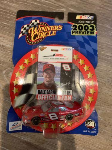 Winner's Circle - Dale Earnhardt Jr. 2002 Monte Carlo - 1/64  Official Fan Badge