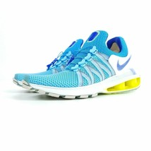 WOMEN'S NIKE SHOX GRAVITY SHOES lagoon pulse racer blue AQ8554 404 MSRP - $70.53