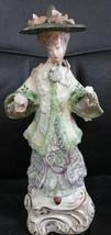 Vintage Cordey Porcelain Asian Lady - $59.39