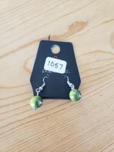 1057 Green Earrings (New) - $3.92