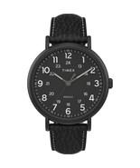 Timex Men's TW2T73400 Weekender XL 43mm Black Dial Strap Analog Quartz W... - $49.49