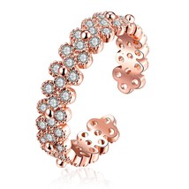 R012-A Gold Plated Korean Style New Design(ROSE GOLD 5) - £7.08 GBP