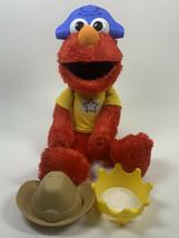 ELMO the MUSICAL Let's Imagine Elmo Sesame Street 4 modes w/ hats Cowboy... - $15.88